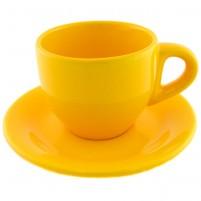 Кофейная пара жёлтая 100 мл.