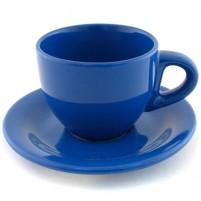 Кофейная пара синяя 100 мл.