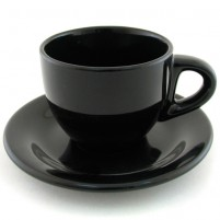 Кофейная пара чёрная 100 мл.