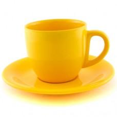 Чайная пара жёлтая 200 мл.