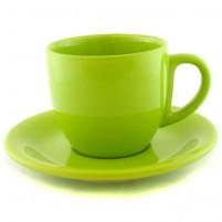Чайная пара зелёная 200 мл.
