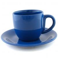 Чайная пара синяя 200 мл.