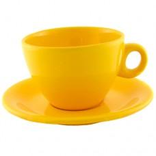 Чайная пара жёлтая 220 мл.