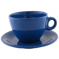 Чайная пара синяя 220 мл.
