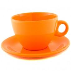 Чайная пара оранжевая 220 мл.