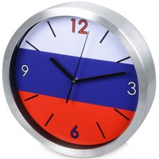 """Часы настенные """"Российский флаг"""""""