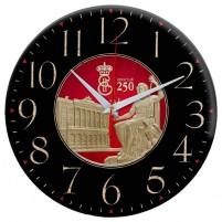 """Часы настенные стеклянные """"Time Wheel"""""""