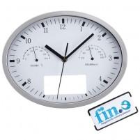 """Часы настенные """"INSERT 3"""" с термометром и гигрометром"""