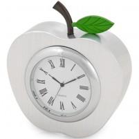 """Часы настольные """"Серебряное яблоко"""""""
