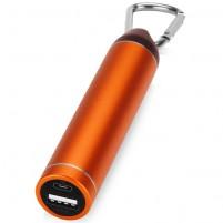 """Портативное зарядное устройство """"Марс"""" с карабином, 2600 mAh"""