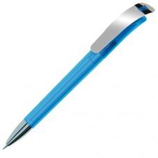 Ручка Focus Прозр. + Метал. Клип